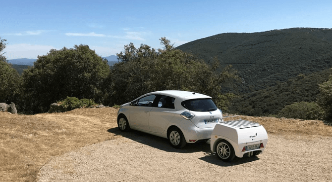 EP Tender vozík na prodloužení dojezdu elektromobilů