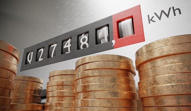 ceny elektřiny 2020
