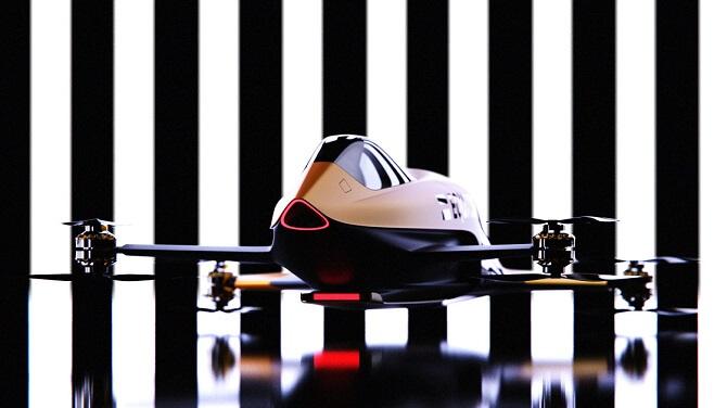 eVTOL letoun Airspeeder od Alauda Racing