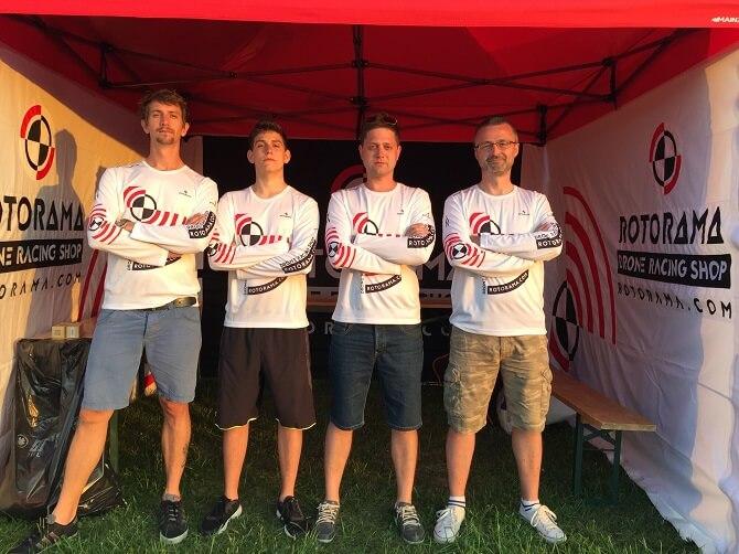 drone racing tým Rotorama