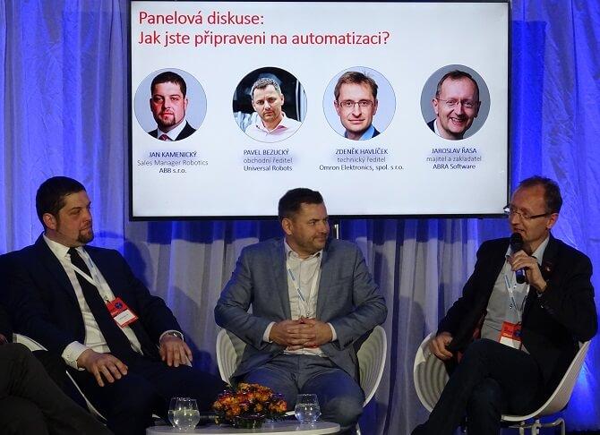 panelová diskuze na konference Já, Robot