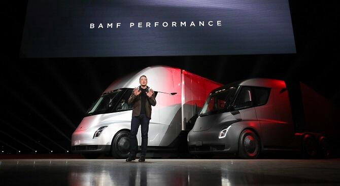 představení Tesla Semi