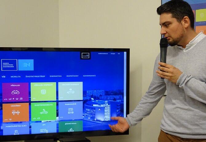 Lukáš Duffek, CEO a jednatel Incinity představuje platformu Invipo