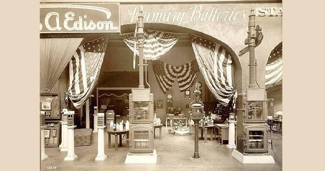 Thomas Alva Edison a jeho vynálezy na výstavě