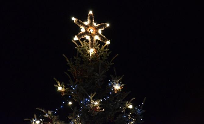 vánoční výzdoba v Karlových Varech