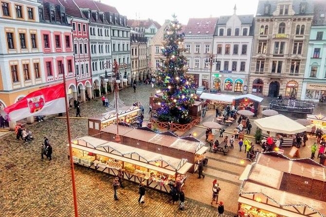 vánoční trhy v Liberci