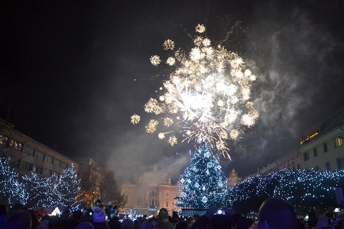 ohňostroj v Ústí nad Labem