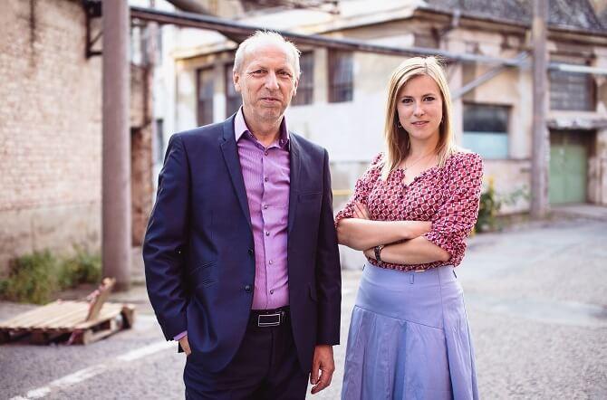 Jiří Dřímal a Tereza Dřímalová