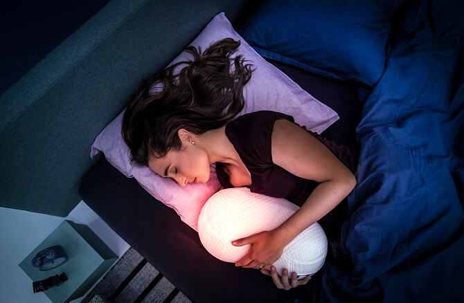 Chytrý polštář Somnox