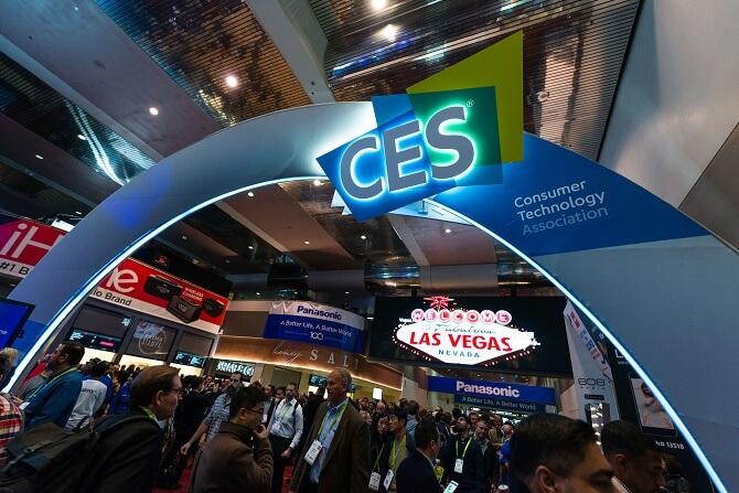vstupní brána na CES 2018