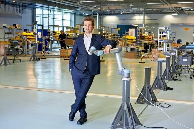 zakladatel Universal Robots Esben Østergaard