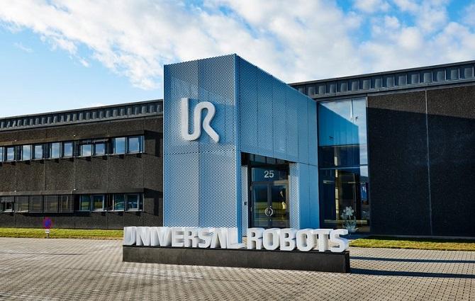 sídlo firmy Universal Robots v Dánsku