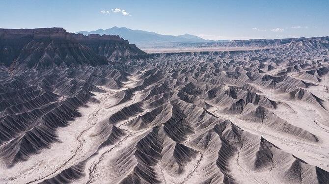 Scenérie Utahu zachycená dronem DJI Mavic Pro