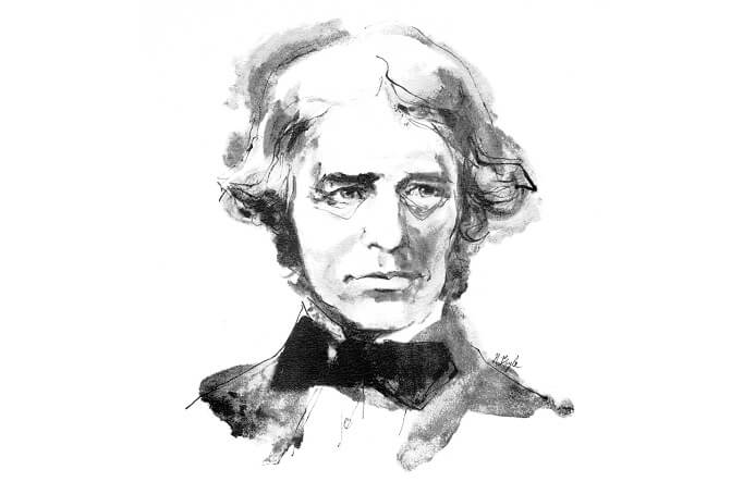 Michael Faraday: portrét