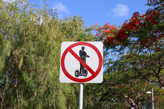 Zákaz Segwayů