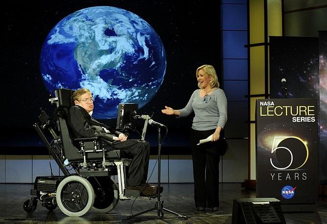 Stephen Hawking a Lucy Hawkingová