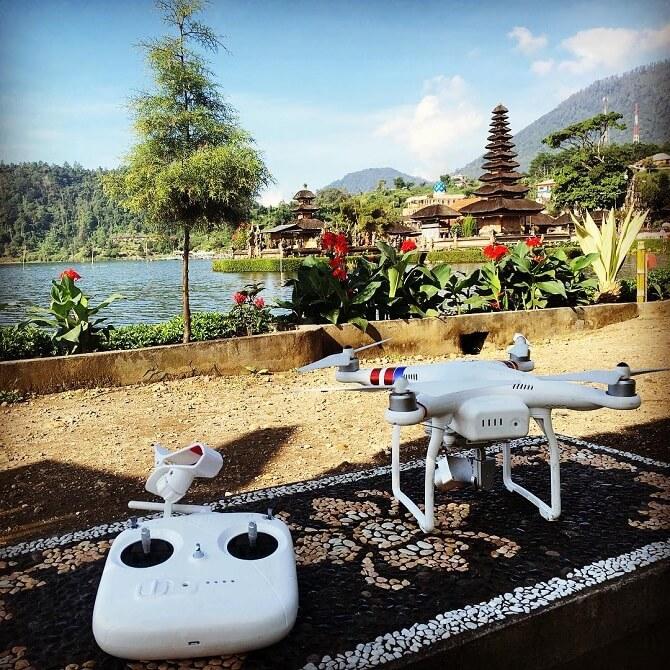 DJI Phantom 3 v Indonésii