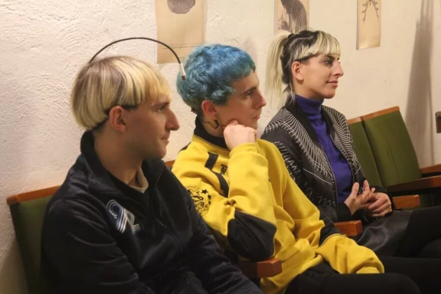 Neil Harbisson, Manel Muñoz a Moon Ribasová