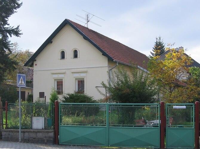 Kolbenův rodný dům ve Strančicích
