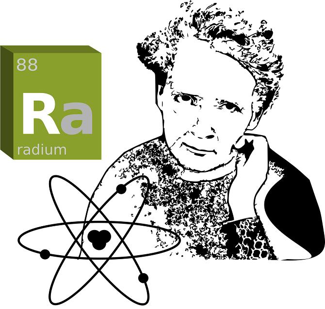 Marie Curie-Skłodowská a prvek radium