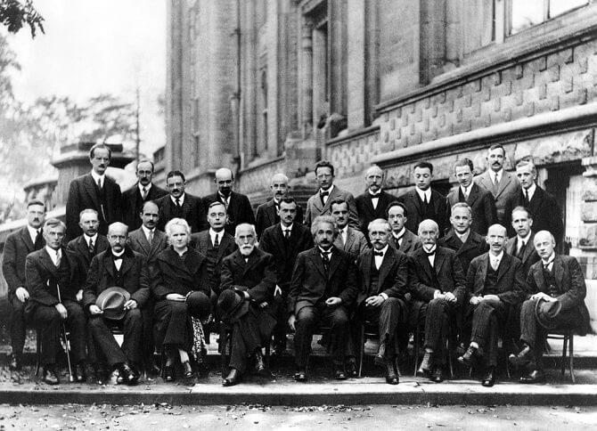 Solvayova konference v roce 1927
