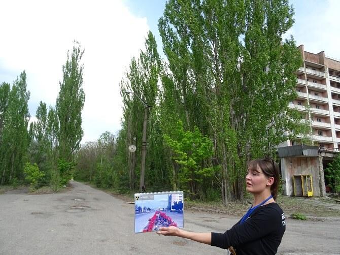 prohlídka města Pripjať