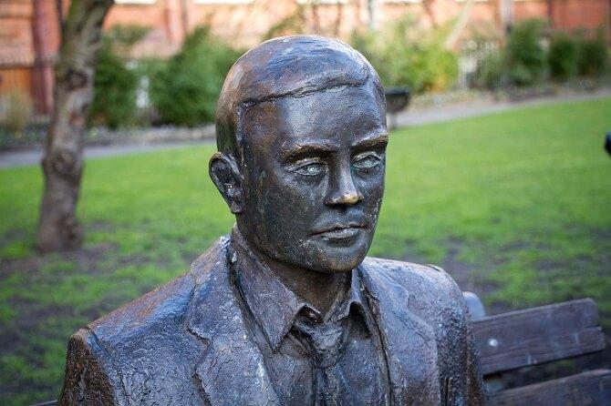 Památník Alana Turinga v Manchesteru