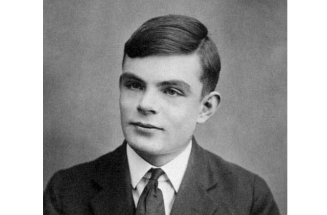 Alan Turing ve věku 16 let