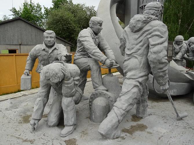 Památník likvidátorům černobylské havárie