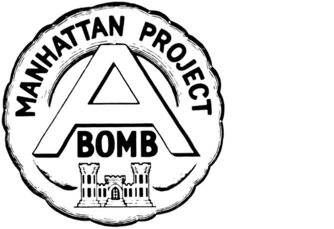 neoficiální logo projektu Manhattan