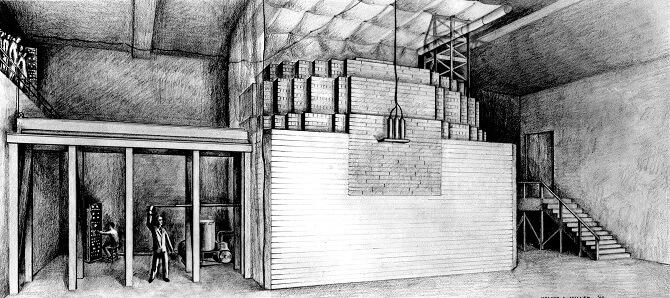 První atomový reaktor pod povrchem Chicaga