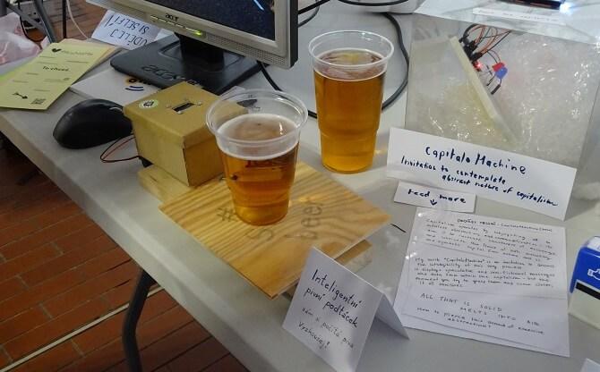Inteligentní pivní tácek