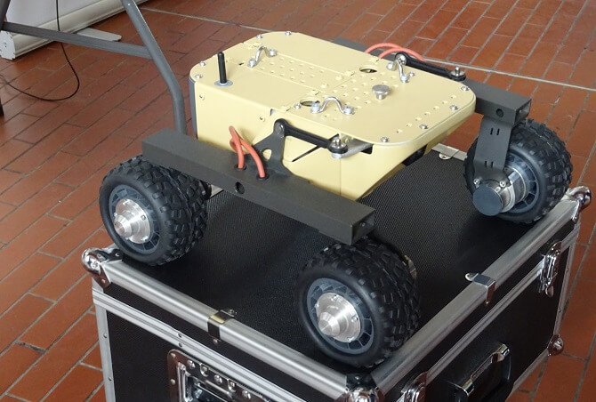 robotické vozítko Turtle Rover