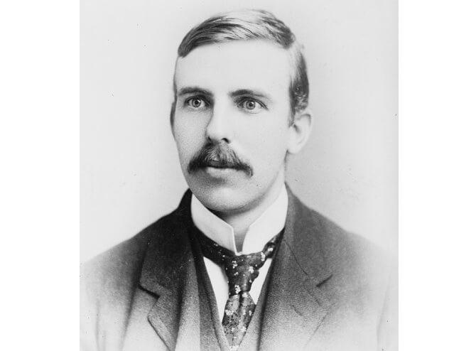 mladý Ernest Rutherford