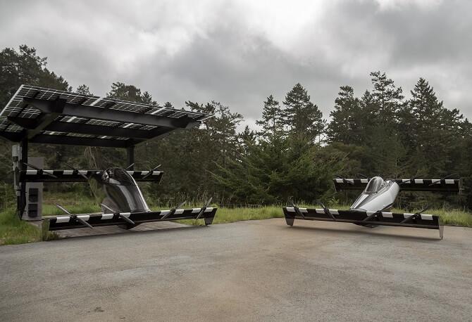 BlackFly při dobíjení energie
