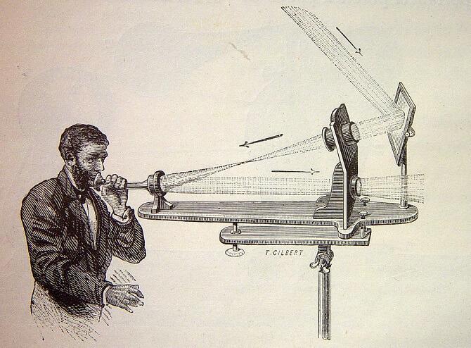 Fotofon, vynález Alexandera Grahama bella