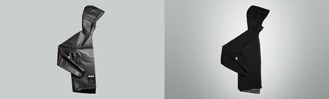 oboustranná grafenová bunda od Vollebak