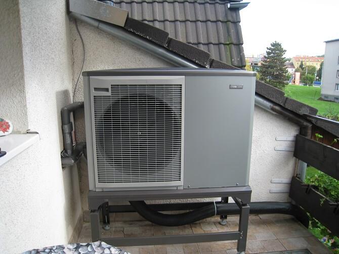 Levnější tepelná čerpadla často dělají větší hluk.