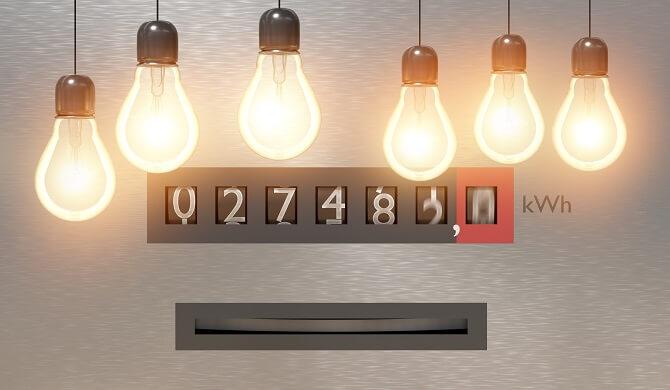 spotřeba elektřiny v domácnosti