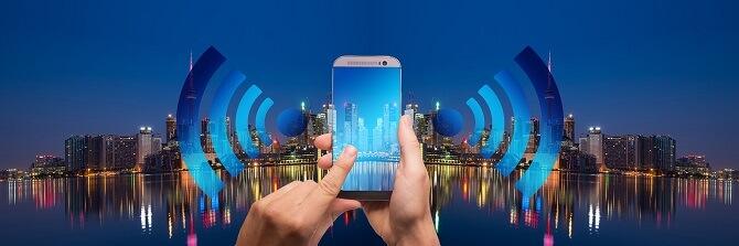 smart city spoléhá na digitální technologie