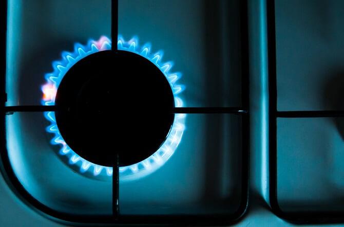 vaření na plynu