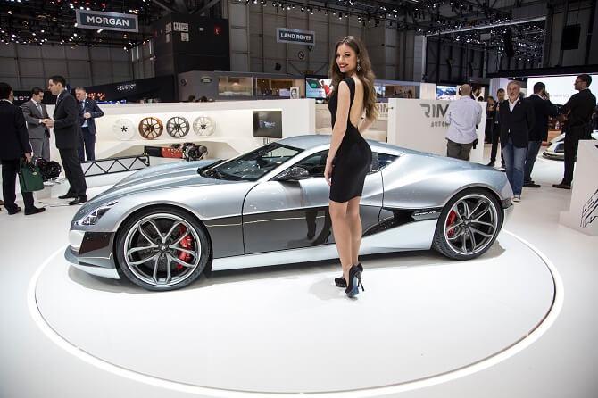 Rimac Concept One na autosalonu