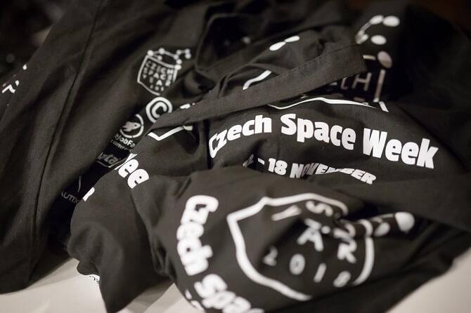Czech Space Week trička