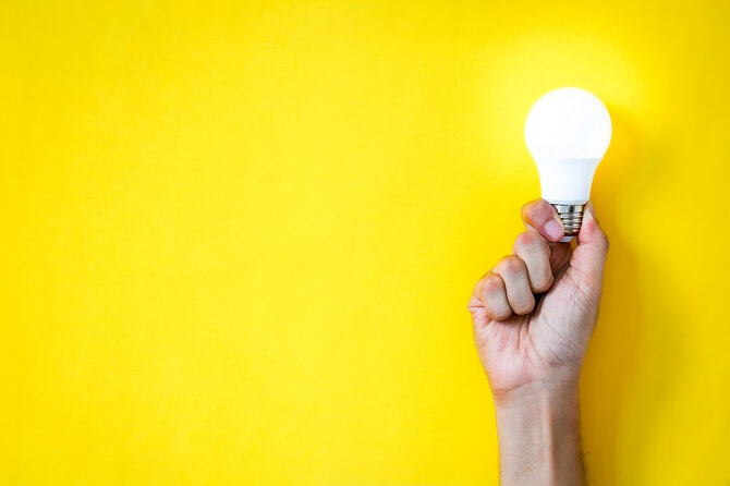 žárovka a ceny elektřiny
