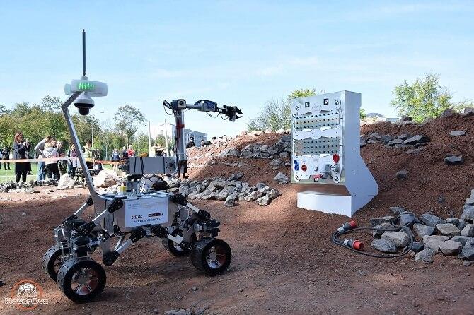 Robotické vozítko K3P4