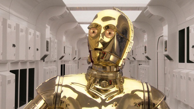 Droid C-3PO.