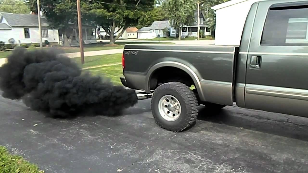 Dieselový výfuk