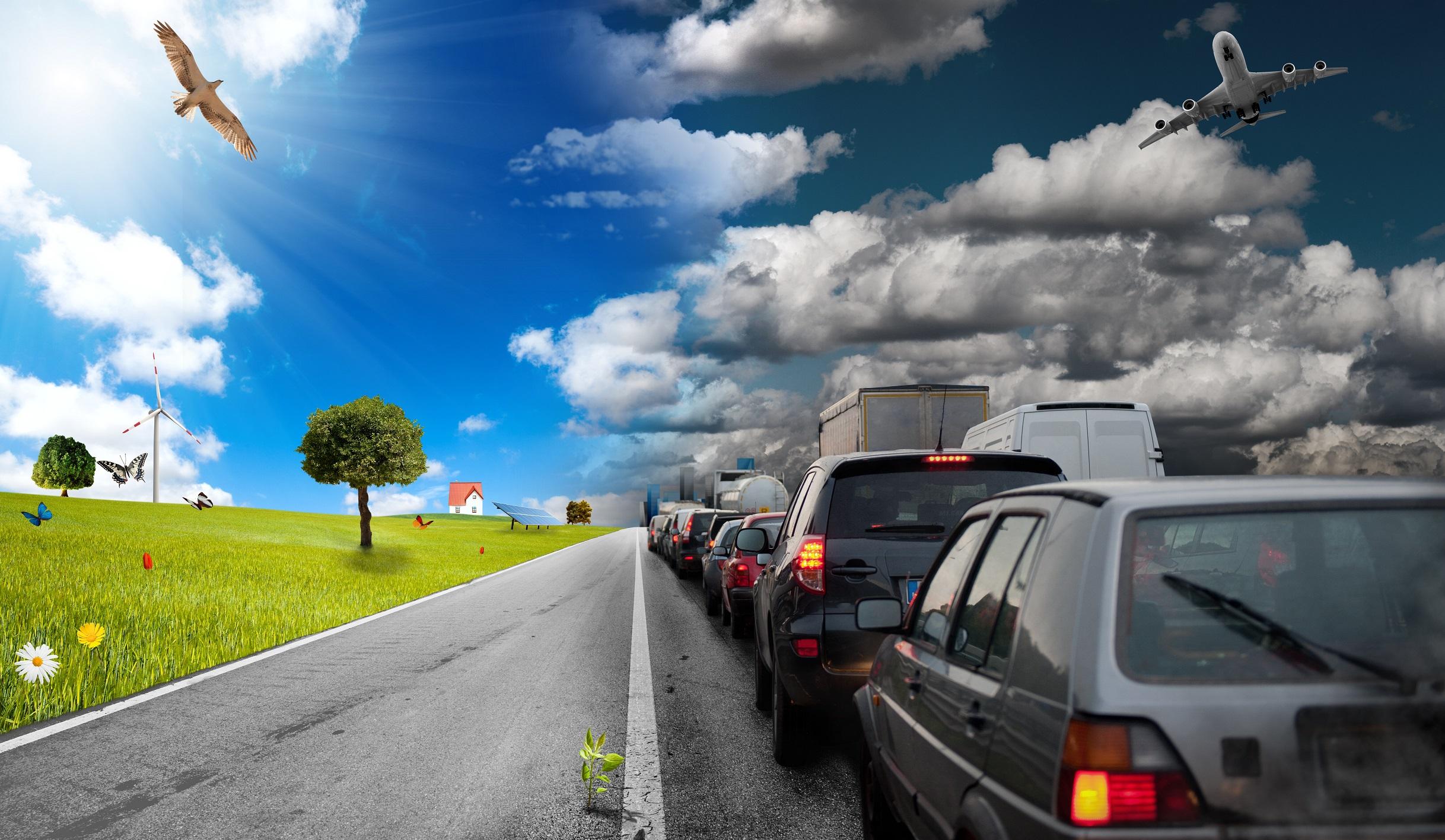 Doprava jako zdroj znečištění krajiny