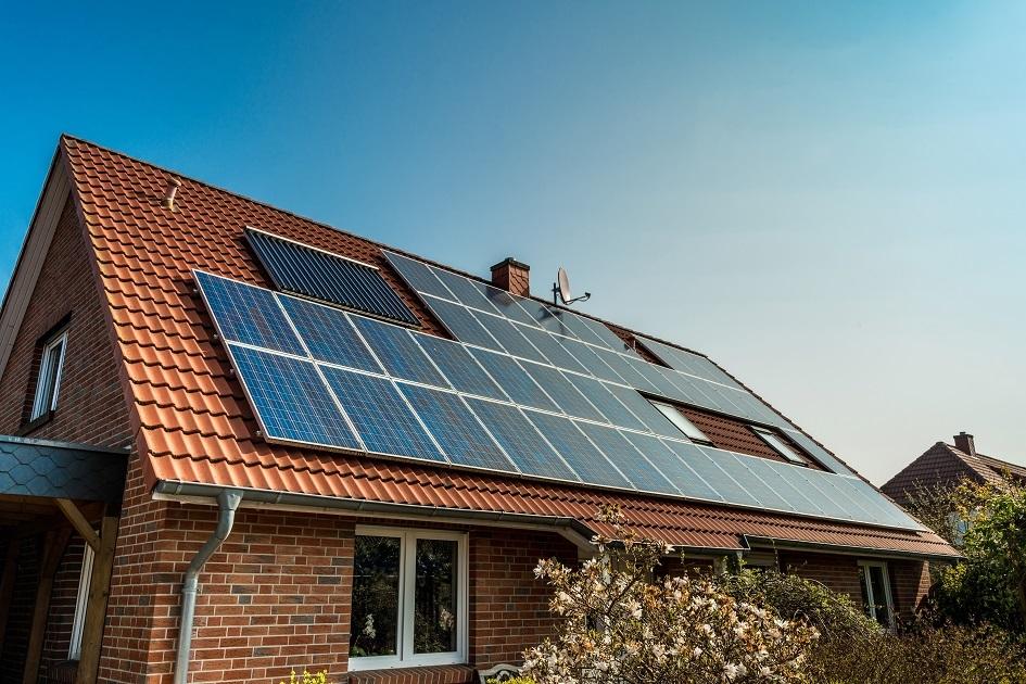 Fotovoltaika na střeše rodinného domu