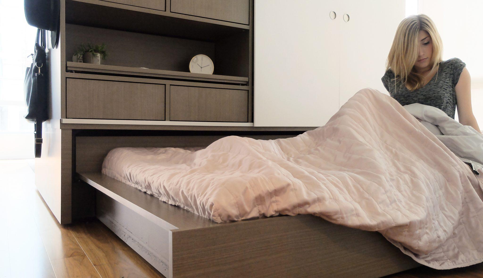 Zasouvací postel nábytku ORI